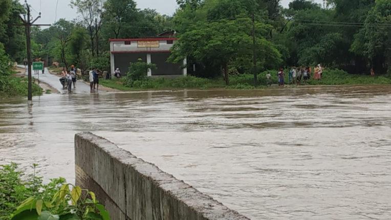 Rain in Gondia