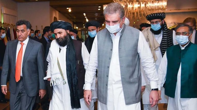 Afghanistan negotiator reaches Pakistan, talks with Taliban