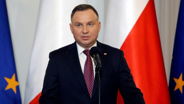 Poland's President Andrzej Duda have been infected with Corona