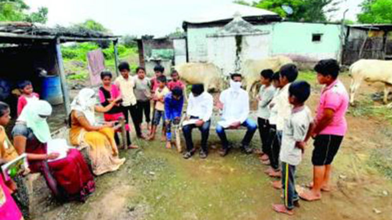अब ग्रामीण क्षेत्र में छात्र भी घर में बोल रहे, मुझे स्कुल जाना है