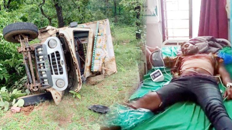 दुर्घटना में 19 मजदूर समेत 23 घायल