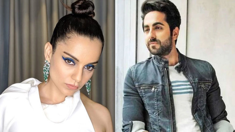 kangana-ranaut-attacks-on-ayushmann-khurrana-chaploos-outsiders-support-mafia-only-for-their-mediocrity