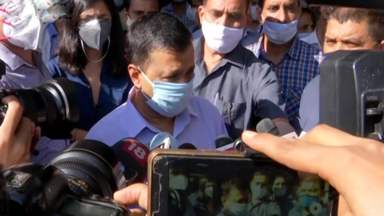 Kejriwal arrives at AIIMS to take stock of 12-year-old girl's condition
