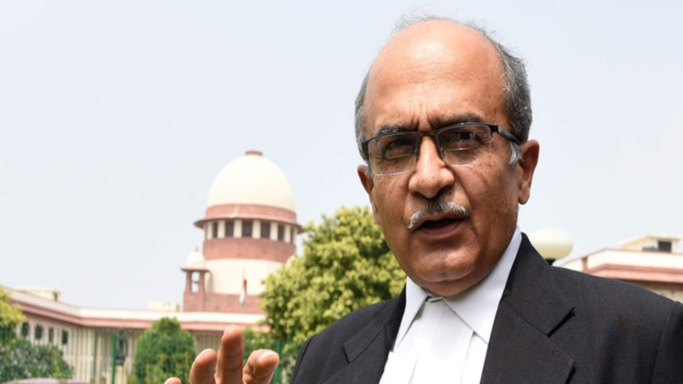 SC sends contempt case against Bhushan to another bench