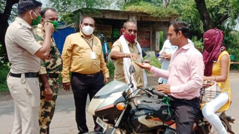 36.55 lakh fine recovered from non-maskers and spit