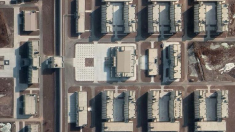 380 detention camps in Xinjiang, China