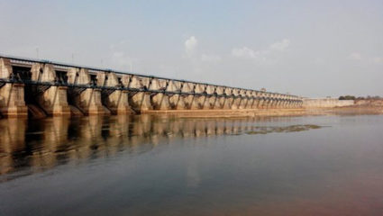 Water being released from 11 gates of Gosikhurd dam