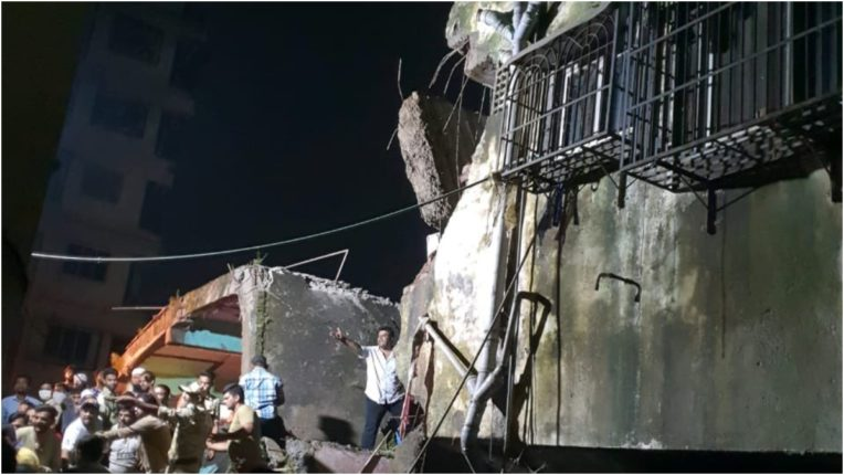8 killed after building collapsed in Bhiwandi near Mumbai