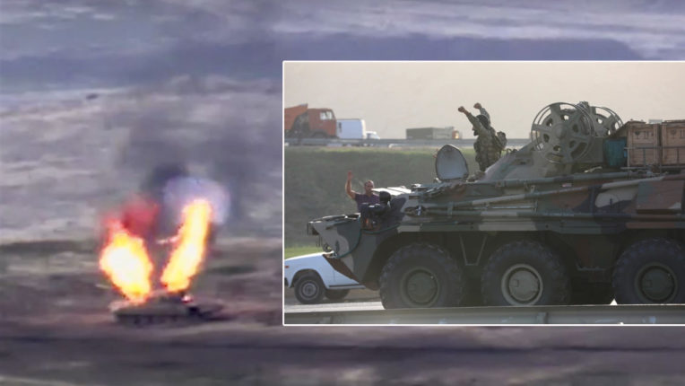 The battle between Armenia, Azerbaijan continues for the fourth day