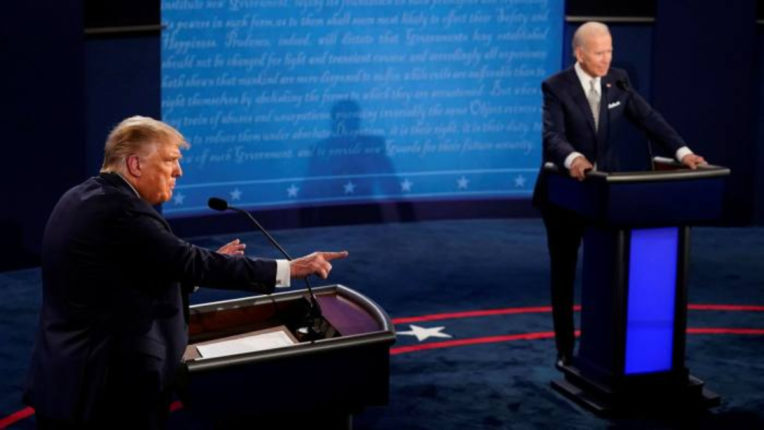 Biden apologizes for calling Trump clown during debate