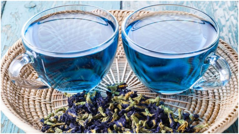 Blue tea is very beneficial for health, definitely consume it