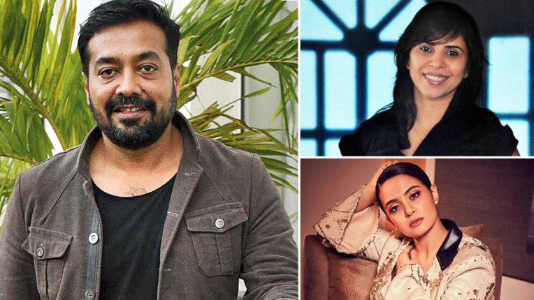 Bollywood artists came in support of Anurag Kashyap