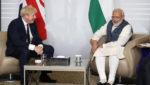 ब्रिटेन के PM ने की भारत के टीका विकसित करने के प्रयास की सराहना