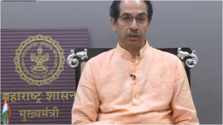 CM Uddhav Thackeray will address the public at 1 o'clock, will he speak on Kangana or will he remain silent? Watch only on 'Navbharat Digital'