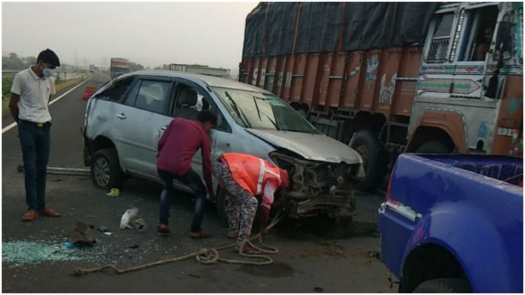 Dead body of miscreant killed in road accident sent to Bhopal for postmortem