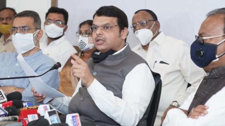 Fadnavis strongly attacked, said - Thackeray government failed on every front in last 1 year