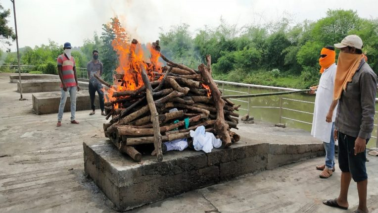 Funeral Bajrang Dal