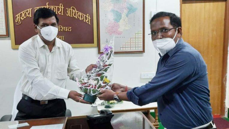 Gondia ZP CEO Pradeep Kumar Dange