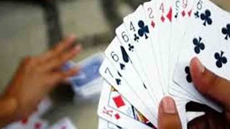Goods worth 1.50 lakh raided at gambling base seized