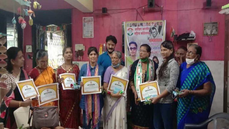 उल्हासनगर में मना महिला कांग्रेस का 37वां स्थापना दिन