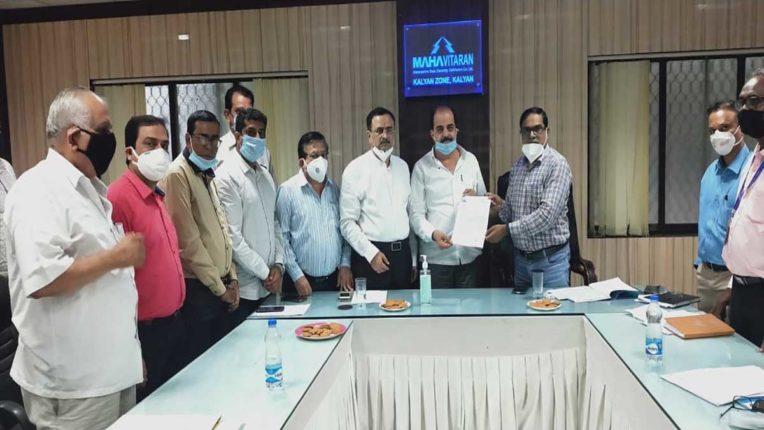 बिजली समस्या को लेकर कुमार आयलानी ने मुख्य अभियंता के साथ की बैठक