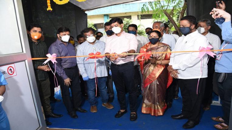 KDMC क्षेत्र को मिला एक और ऑक्सीजन सुविधा युक्त 75 बेड का अस्पताल