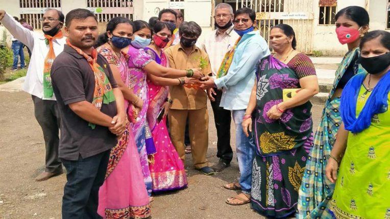 भाजपा ओबीसी मोर्चा ने मनाया 'सेवा सप्ताह'