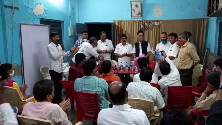 बिहार चुनाव को लेकर वर्ली में बीजेपी की बैठक