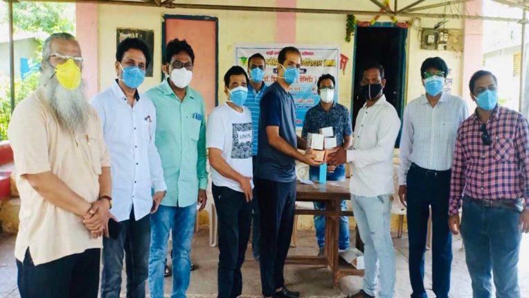 उरण में स्वास्थ्य शिविर का आयोजन