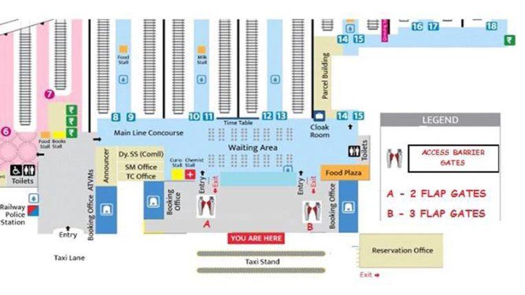 मेल-एक्सप्रेस यात्रियों की होगी क्यूआर कोड टिकट जांच