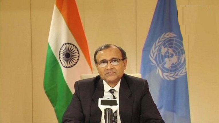 जलवायु परिवर्तन से लड़ने के लिए देश अपने संकल्पों को गंभीरता से लें : भारत