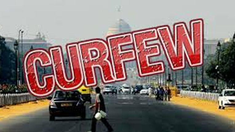 1 week public curfew in Sironcha