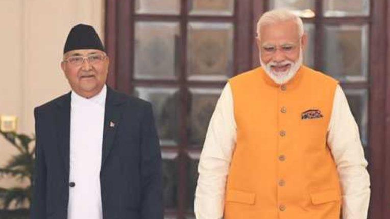 Nepal's Prime Minister wishes Modi 70th birthday