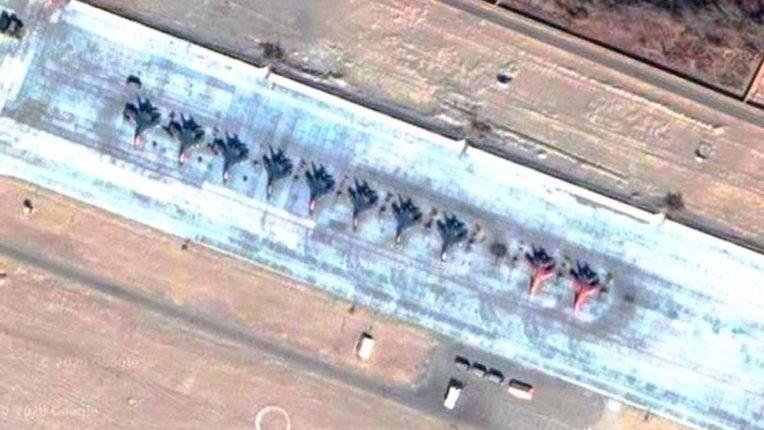 Ladakh China Air Base