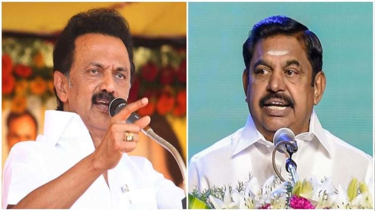 MK Stalin and Pallaniswami