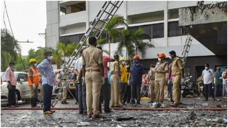 Maharashtra: Fire in ICU of Government Hospital in Kolhapur, no casualties
