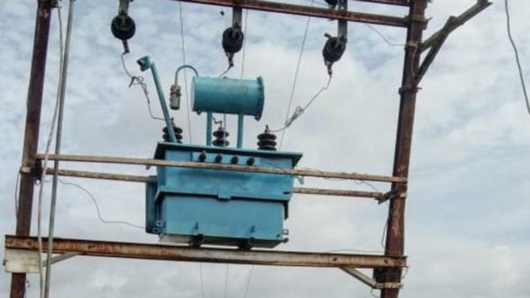 मलठण में नया बिजली ट्रान्सफॉर्मर हुआ कार्यान्वित