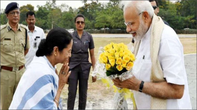 Mamta Banerjee wishes Prime Minister Narendra Modi on his birthday