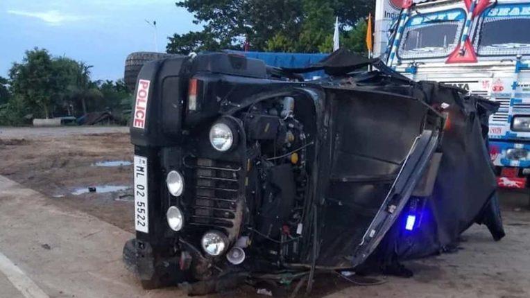 Meghalaya car accident, Minsiter