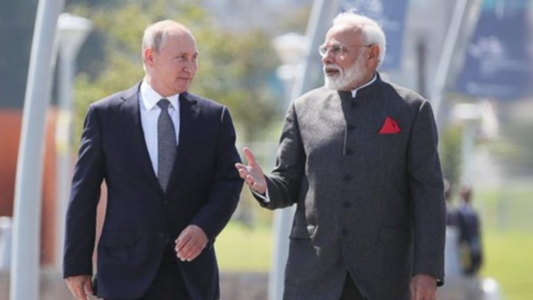 Russian President Putin wishes Prime Minister Narendra Modi on his birthday