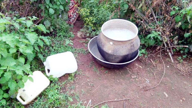 Mulurchak village organization confiscated liquor