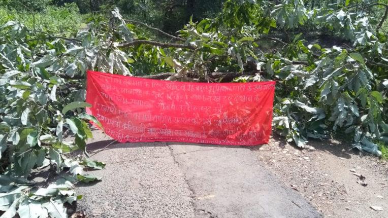 Naxalites closed Dububaguda-Mallampodur road