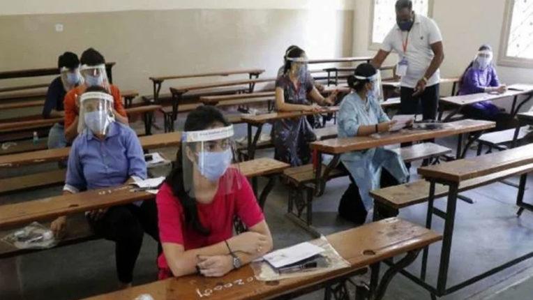 कोविड-19 के सख्त एहतियात के बीच NEET परीक्षा में  90 प्रतिशत परीक्षार्थी हुए शामिल