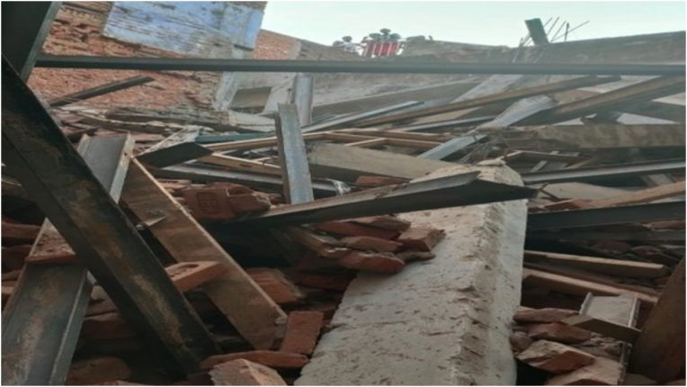 One injured after under-construction building collapses in Delhi