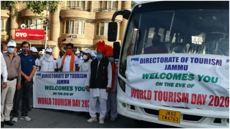 'Open-roof' bus service starts for Suchetgarh border on World Tourism Day