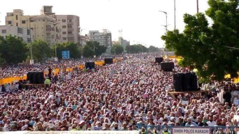 'Anti-Shia' protest in Pakistan