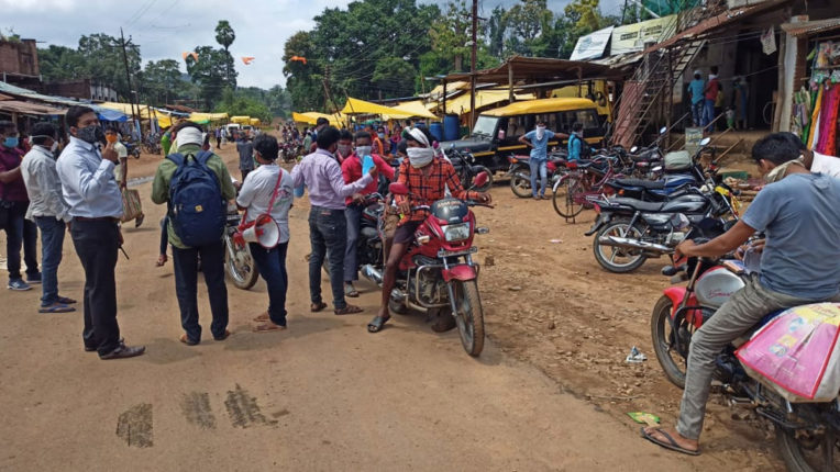 Rs 15,440 fine charged without maskers