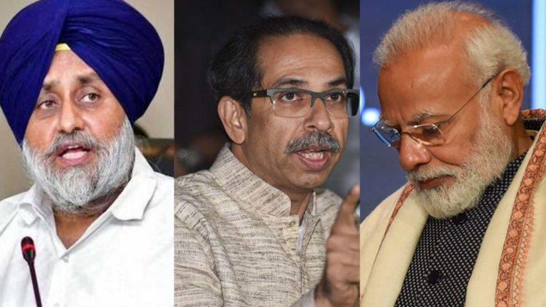 SAD, Shiv Sena and BJP