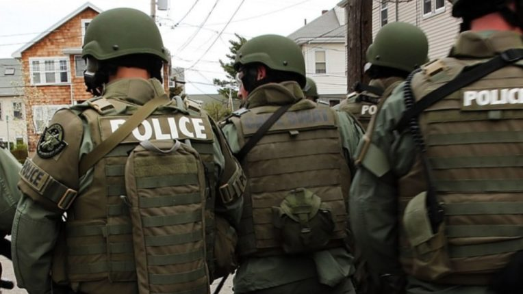 SWAT killed the person holding the woman hostage