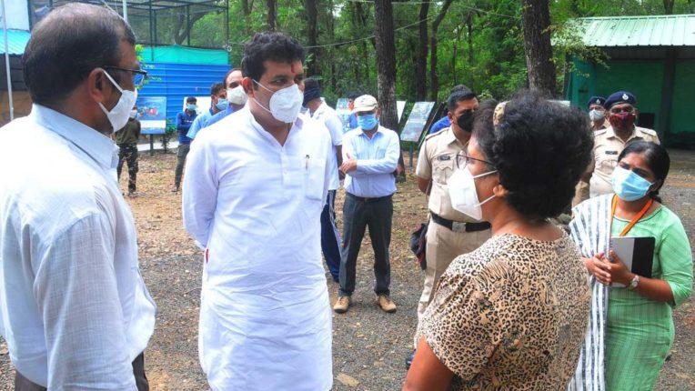 Sanjay Rathod Visited Rescue Center